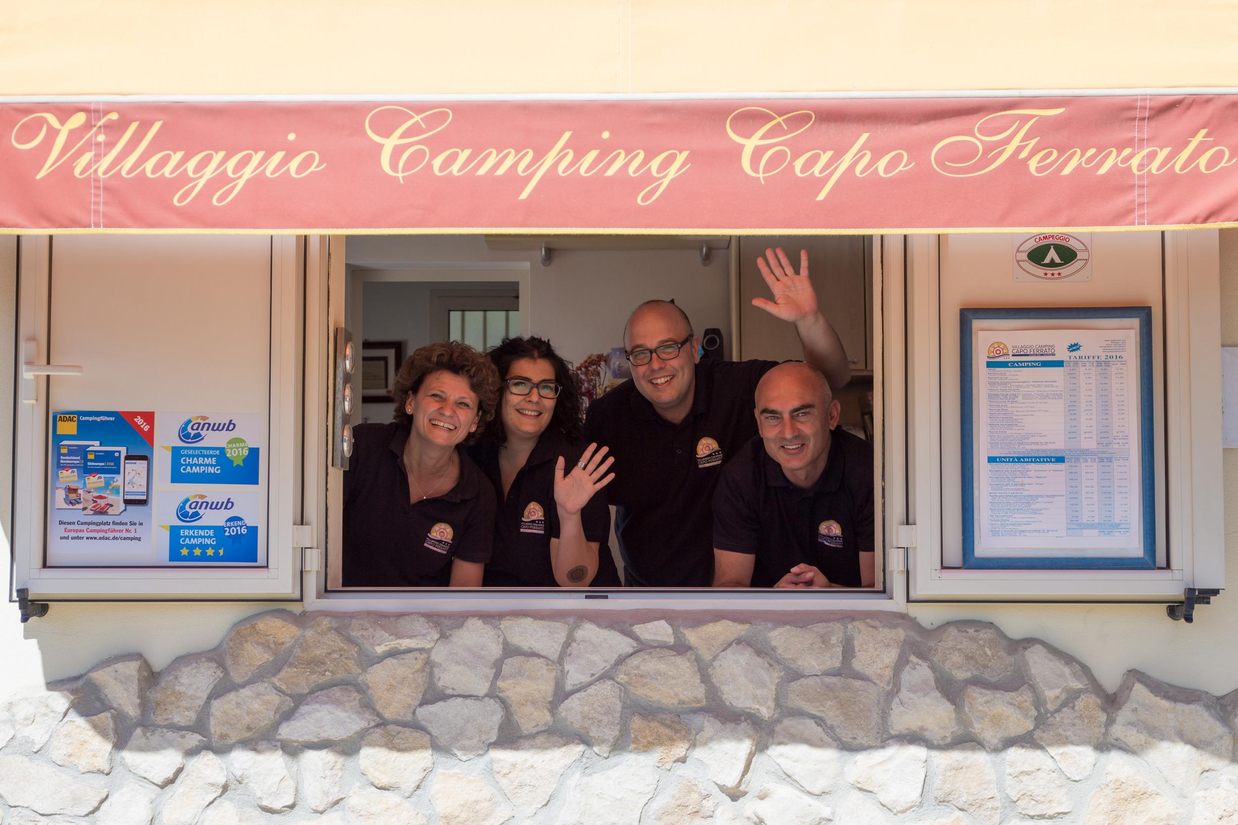 Villaggio Camping Capo Ferrato DE