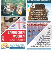 """6. April -1. Mai mit der """"Sardischen Wochen"""""""